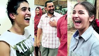 Aamir Khan, Fatima, Zaira And Other HAVE FUN On The Sets Of Dangal   Behind The Scenes Of Dangal