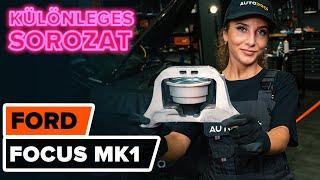 FORD FOCUS első bal Motortartó gumibak beszerelése: videó útmutató