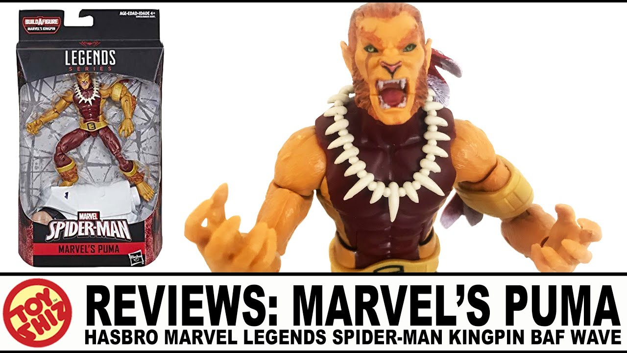 marvel legends puma