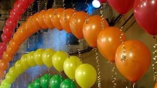 видео Оформление праздника