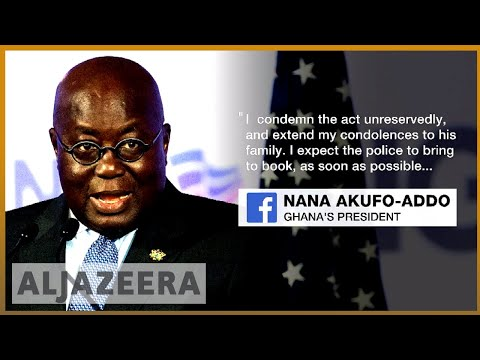 🇬🇭 Ghana: Undercover journalist Hussein-Suale shot dead | Al Jazeera English