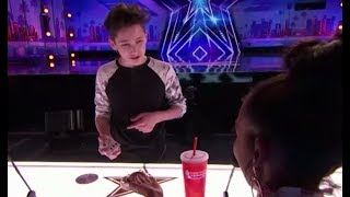 Henry Richardson: Young Magician From New York STUNS the Judges on America's Got Talent 2017