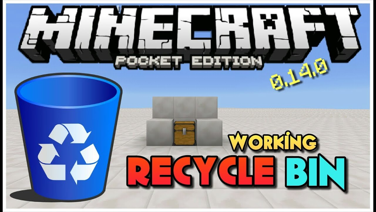how to make a working bin in minecraft