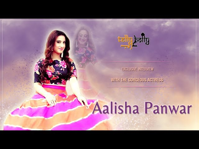 Exclusive Interview with the Pretty Aalisha Panwar by TellyBolly Arab