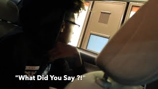 DRIVE THRU PRANK GONE WRONG W/ BUMPTV😡 SHE CALLED THE COPS😨