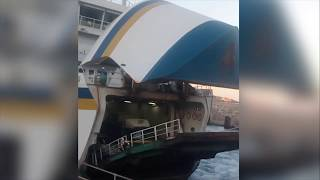 Crazy Motorcyclist Jumps the Gozo Channel Ramp by Testafilms
