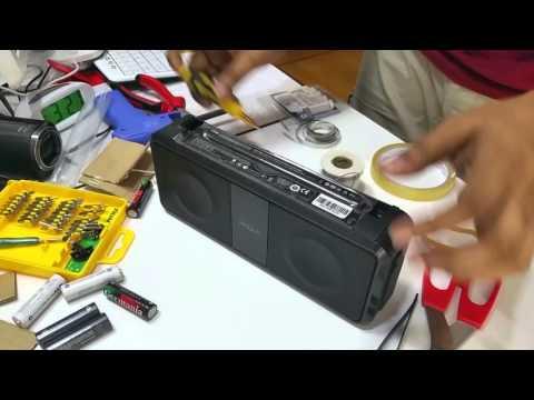 tdk a33 speaker eneloop battery  replacment part 3 final