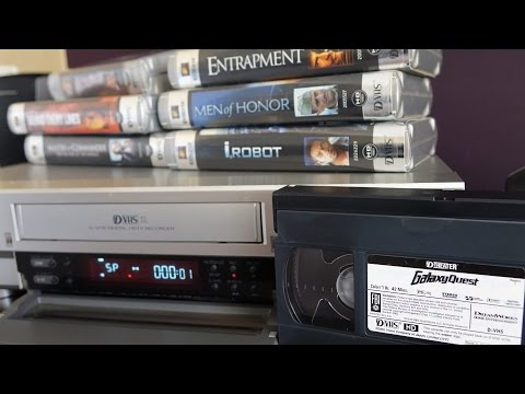 Retro-Tech: When HD Movies came on VHS