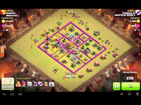 Lure/AD Lightning Spell Clash Of Clans
