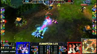 Xpeke (Ahri) VS Bjergsen (TF) - Epic 1 V 1 Duel Of EU LCS