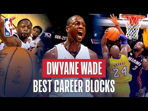 Dwyane Wade Best Career Blocks thumbnail