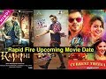 Top 10 Upcoming South Indian Movie in Hindi Dubbed Update in Just 1 Minute (Rapid Fire Video)