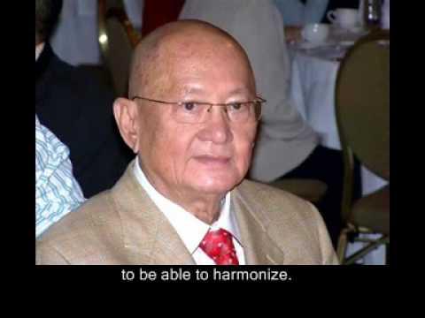 Master Tam aka Vi Kien aka Luong Si Hang, Vovi meditation master speaks: 1 w/ English subtitles