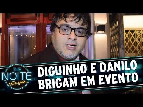 The Noite (07/03/16) - Diguinho E Danilo Gentili Brigam Nos Bastidores (e Nós Gravamos)