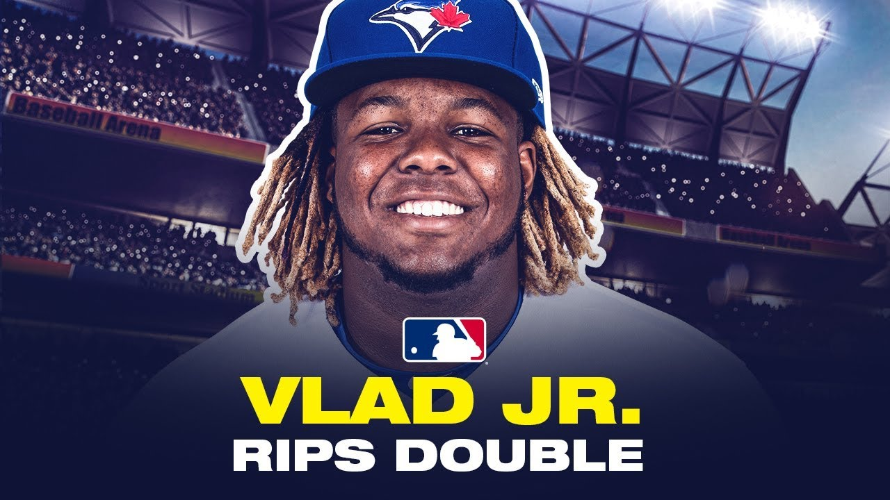 Vlad Jr. TORCHES one-armed double at ST