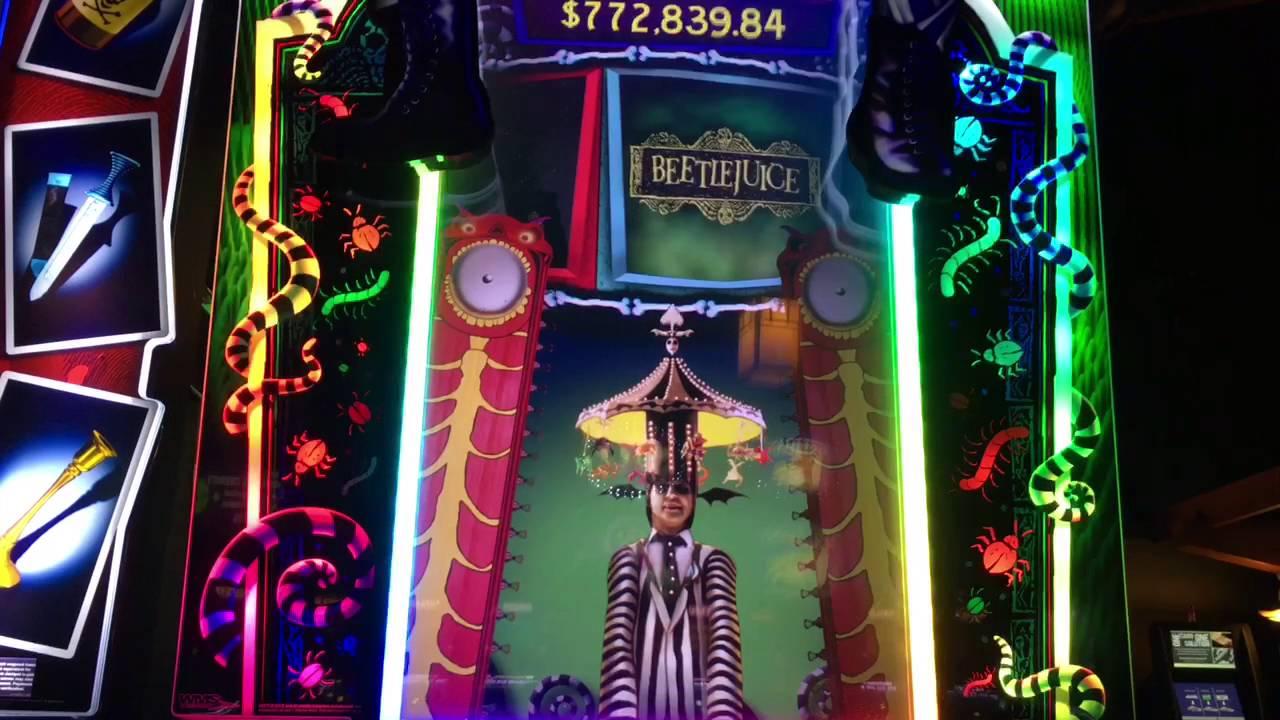 Beetlejuice slot machine big win slot cars adelaide hills