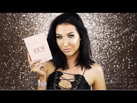 KKW/KYLIE COSMETICS SWATCHES & REVIEW | Jaclyn Hill
