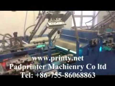 4 Color Screen Printer,automatic 4 Colour Screen Printing Machine Equipment