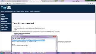 CARA MEMBUAT URL FORWARDING DENGAN TINYURL thumbnail