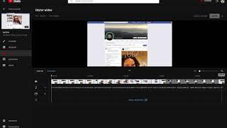 Nowy Edytor youtube   mikro tutorial (jak wyciąć scenę z filmu już opublikowanego)