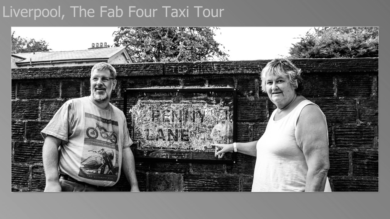 The Brits Job Tour 2018 Liverpool, Fab 4 Taxi Tour Slideshow