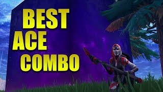 The Best Ace Skin, Glider, Pickaxe, and contrail Combo In Fortnite Battle Royale
