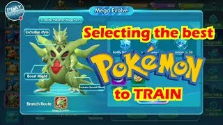 LEGEND TRAINER - Tips on How to choose the Best Pokemon