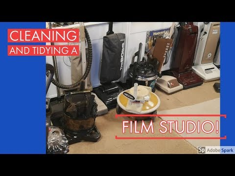 Holidays with Hooverlux - Film Studio Cleaning!