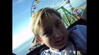 Santa Monica Pier Roller Coaster with Wiggly Gamer