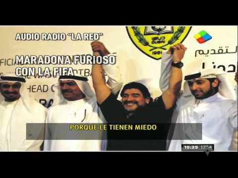"""Maradona: Le pedí a Grondona que no sigan choreando"""""""