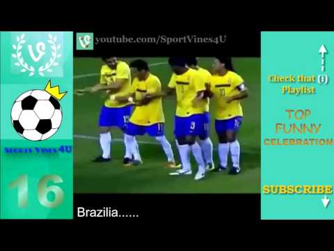 Top Funny Football Goal Celebrations   Best Funny Celebrations in Soccer vines compilation