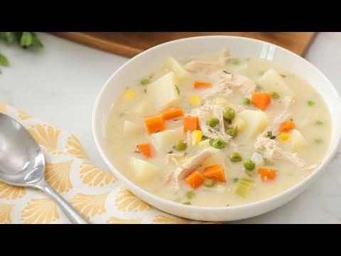 Turkey Pot Pie Soup | Healthy Meal Plans