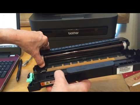Remove Lines and Marks from Brother Laser Printer Print Outs