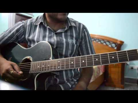 humnava hamari adhuri kahani intro guitar cover plucking and chords tutorial by aman