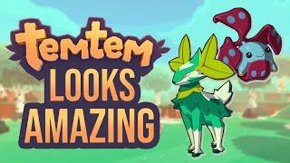 Temtem Looks AMAZING!   An Ambitious Pokemon-like MMO Game