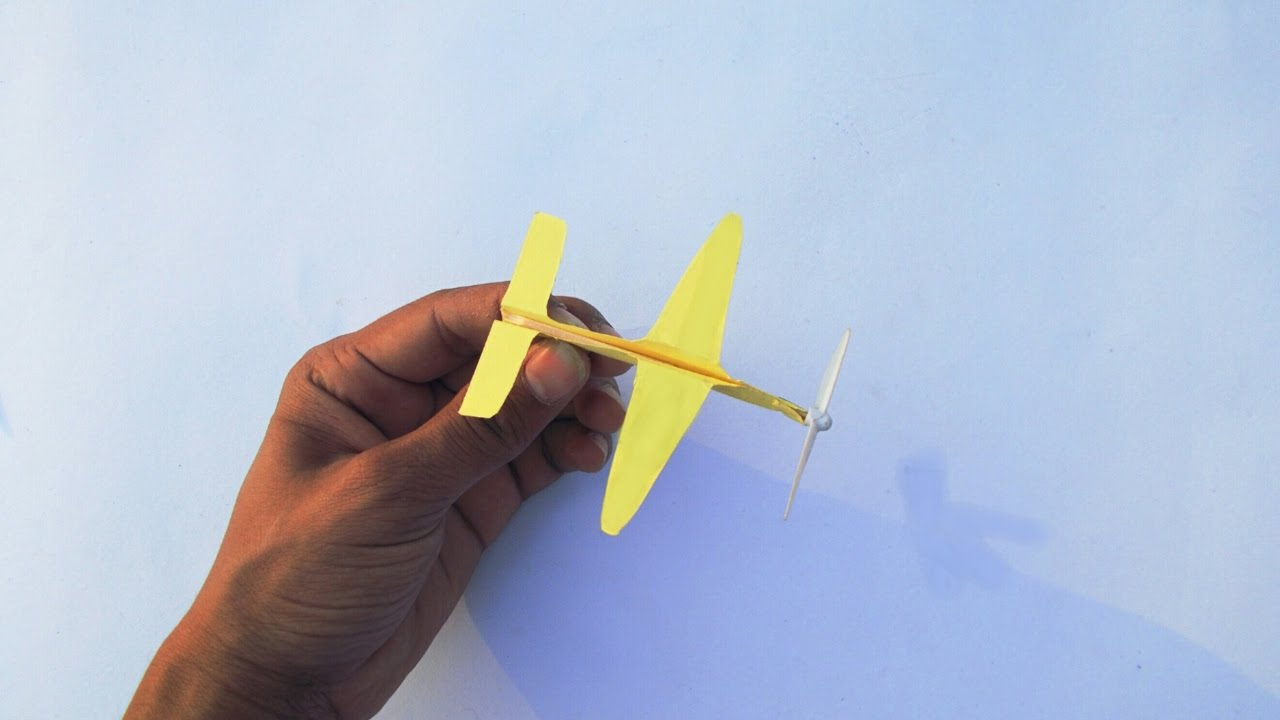 how to make a flying glider