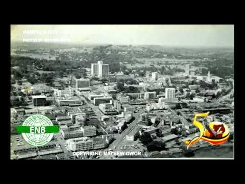 KAMPALA CITY IN  LATE 1950s