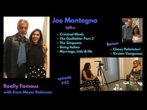This is the REAL Joe Mantegna.