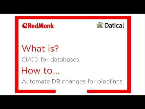 What Is CI/CD For Databases. How To Automate DB Changes For Pipelines