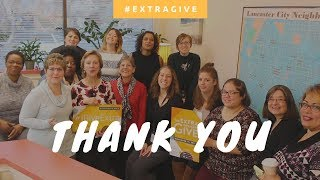 Thank you! | ExtraGive 2017