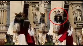 Cristo en estatuas se mueve ¿Milagro?