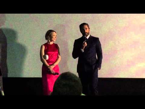 Rachel McAdams and Jake Gyllenhaal at the premiere of Southpaw!