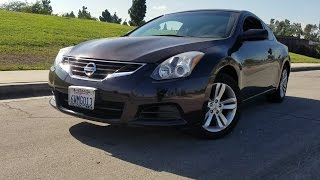 Nissan Altima Coupe 2012 Videos