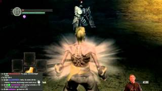 Dark Souls Challenge, Kill Havel the rock without using weapon or spell