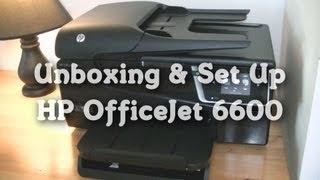 Unboxing & Set Up: HP OfficeJet 6600
