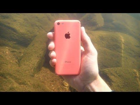 Il Trouve Un IPhone Dans Une Rivière... ಠ_ಠ