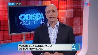 """Editorial de Pagni """"Macri, el abanderado de los humildes"""", en """"Odisea Argentina"""" - 19/12/16"""