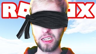 BLINDFOLDED ROBLOX OBBY CHALLENGE