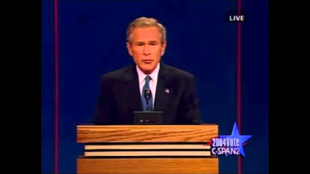 George W Bush S Excessive Eye Blinking During 2004 Presidential