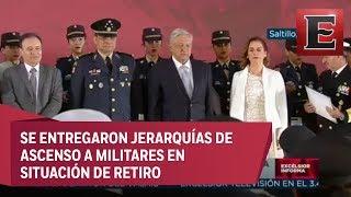 Ceremonia de Conmemoración del 106 aniversario del Ejército Mexicano